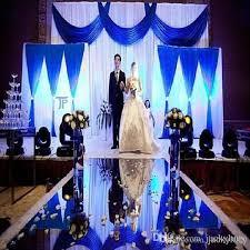 wedding backdrop gold 30m roll 1 2 m wide luxury wedding backdrop decor mirror carpet