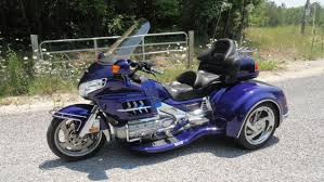 goldwing illusion blue motorcycles for sale
