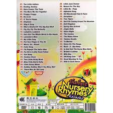 the best nursery rhymes children songs karaoke vol 1 dvd