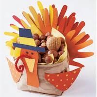 thanksgiving centerpiece craft k4 class