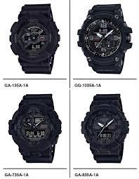 Jam Tangan G Shock Pertama lima casio g shock baru dilancarkan sempena ulang tahun ke 35 amanz