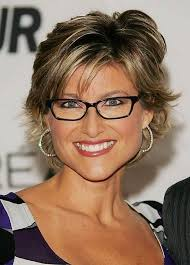 haircuts for 50 year old women with bangs short haircuts for older women over 50 with glasses