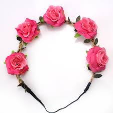 hair bands m mism fashion flower headband headwear women girl elastic