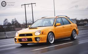 custom subaru bugeye yellow bugeye streetshotz