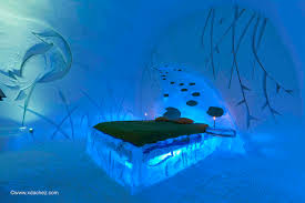 Hotel De Glace by Think You Love The Cold Try This Magical Hotelboe Magazine