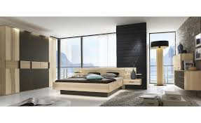 Schlafzimmer M El Kraft Massivholz Doppelbett Mit Nachtkonsolen Kiruna