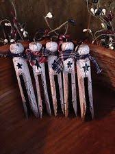snowmen clothespin ornaments turn an fashioned wooden