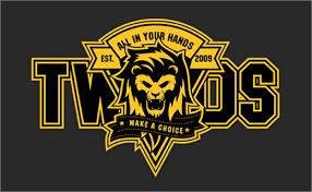 band logo designer identity for rock band t w o s logo designer