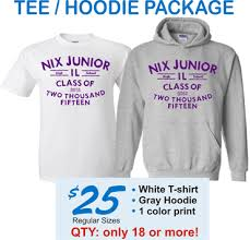 class of hoodie packages and sweatshirts made easy