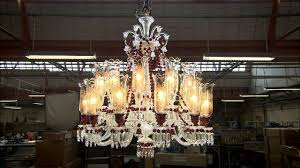 Glass Blown Chandeliers by How The Baccarat Crystal Studio Makes A Blown Crystal Chandelier