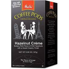 melitta hazelnut cream coffee pods 18ct walmart com