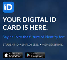 digital id card app for ios and android includes scannable barcode