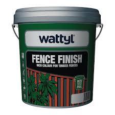 fence finish