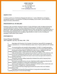 sample resume with objective store manager resume objective store