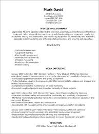 crane operator resume sample equipment operator sample resume