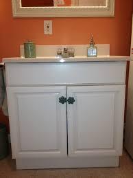 Paint Laminate Vanity The Elegant House Painting A Laminate Bathroom Vanity