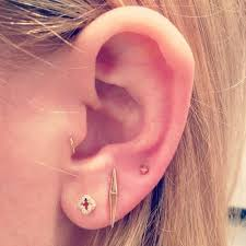 earring pierced 28 adventurous ear piercings to try this summer