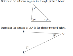 Finding Interior Angles Of A Polygon Worksheet Triangle Interior Angles Worksheet Pdf And Answer Key Scaffolded