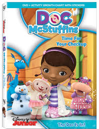 doc mcstuffins playhouse doc mcstuffins time for your checkup dvd review connected2christ
