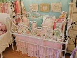 bedroom chic classic baby nursery room design using white wrought