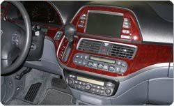 Honda Odyssey Interior Amazon Com Honda Odyssey Interior Burl Wood Dash Trim Kit Set