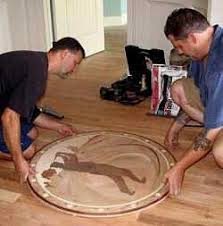 hardwood floor medallions prefabricated
