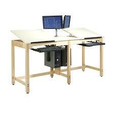 Drafting Computer Desk French Farmhouse Rustic Solid Oak Computer Desk Tag Amazing