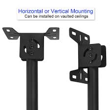 Vaulted Ceiling Tv Mount by Cheetah Mounts Aplcmb Plasma Lcd Tv Tilt And Swivel Ceiling Mount