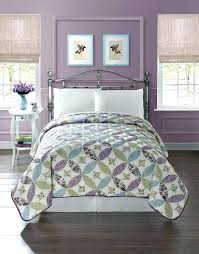 Purple Coverlets Dkny Coverlets Quilts Floral Vintage Patchwork Quilted Bedspread