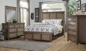 remington hickory u0026 mahogany queen panel bedroom the dump