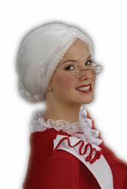 mrs claus wigs wigs by unique
