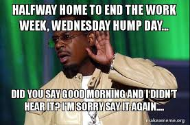 Wednesday Hump Day Meme - halfway home to end the work week wednesday hump day did you