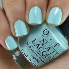 opi gelato on my mind v33 pale baby pastel blue creme nail