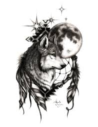alejandro jake artwork wolf with catcher original digital