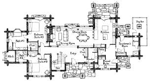 Floor Plans For Mountain Homes Rogue Log Home Plan By Rocky Mountain Log Homes