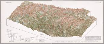 Sequoia National Park Map Oblique Map Of Sequoia And Kings Canyon National Parks Fresno And