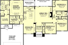 european style house plans european style house plan 4 beds 2 baths 2000 sq ft plan 4