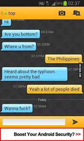 grindr for android typical grindr chat 9gag