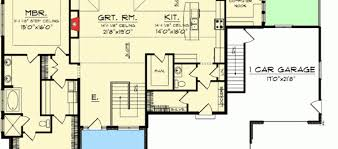 House Floor Plans With Walkout Basement 100 Ranch Home Floor Plans With Walkout Basement 100 One