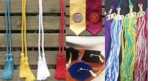 graduation accessories by oak cap gown