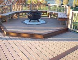 Deck Firepit Small Pits For Decks Small Deck Pit Design And Ideas