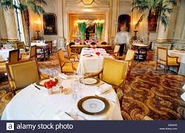 france paris inside fancy dining room french restaurant