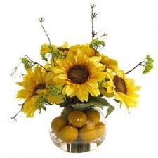 sunflower arrangements silk sunflower arrangements foter