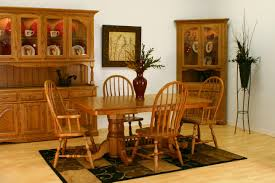 Chair Chair Oak Dining Room Set With Bench Sets Of Table And - Oak dining room set