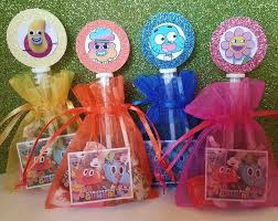 gumball party favors 12 amazing world of gumball birthday party favor bag sticker