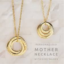 ring necklace with names images 63 best mom necklace images jpg