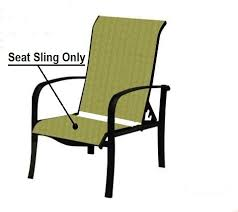 Patio Chair Outdoor Replacement Slings Patio Chair Sling Repairs Regarding