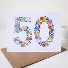 amazing 50th birthday cards hd picture ideas for your invitation