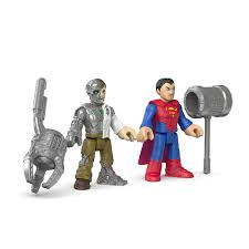 superman peppa pig and other toyriffic imaginext metallo and another superman coming soon