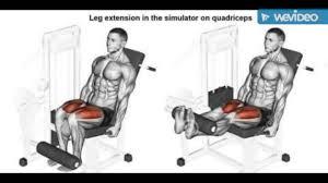 bodybuilding latihan membentuk otot paha dan betis youtube